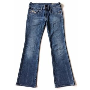 Diesel Jeans 25 x 31 Boot Cut Ronhar Distressed